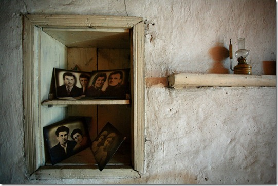Portraits of generations in one of Adishi house.